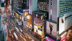 Marriott Marquis in Times Square NYC - best spot to stay to be in the middle of the action.