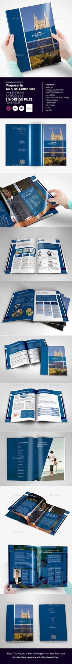 Proposal Template Buy and Download   graphicrivernet/item - purchase proposal templates