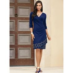 9c508f7d36 Grommet Wrap Dress by EY Boutique Dress Boutiques