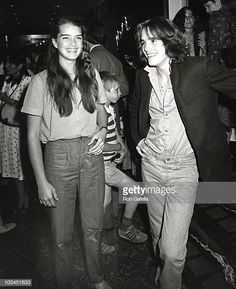 """Brooke Shields and Matt Dillon during """"Kids are People Too"""" at Rumpelmayer's in New York City, New York Brooke Shields, Olivia Hussey, Matt Dillon, Calvin Klein, Cinema, Studio 54, Best Actor, Beautiful Actresses, Movie Stars"""