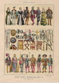 MINIATURAS MILITARES POR ALFONS CÀNOVAS: TRAJES Y ARMAS DE LA HISTORIA DE ESPAÑA (Siglo XVI )