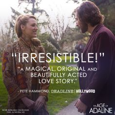 See the romantic movie that critics at Deadline Hollywood​ are raving about. The Age of #Adaline is now on Blu-ray, DVD & Digital HD. lions.gt/adalinedigital