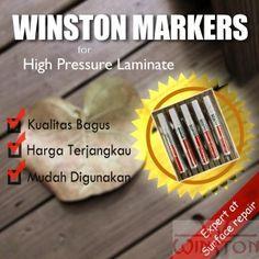 Surface Repair Spidol (Marker) ~ Untuk Merawat HPL Anda