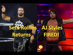 Fro Wrestling Podcast Episode 45 - Seth Rollins Returns / AJ Styles FIRED!