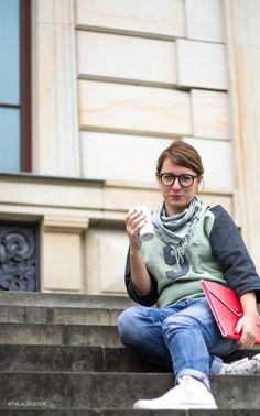 theblogbook | sewing | college sweater, prülla