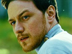 James Mcavoy and his ginger beard being flawless on the set of ...