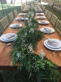 42 Trendy farmhouse table setting wedding #wedding #farmhouse