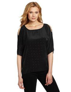 Calvin Klein Jeans Women's Cold Shoulder Woven « Clothing Impulse