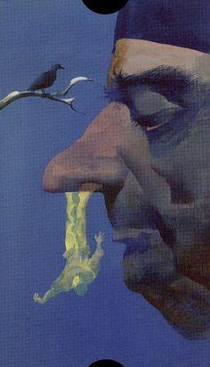 The Hanged Man - Tarot of the Imagination