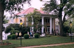 """The Blue Willow Inn"" in Social Circle Ga."