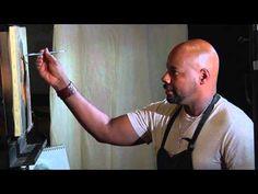 Ron Hicks - how to paint a portrait demonstration. Hicks is a terrific figurative painter.