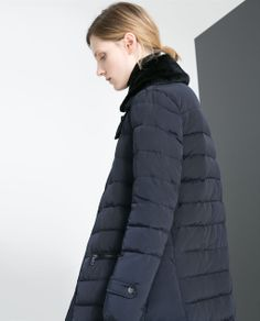 Image 3 of LONG PUFFER JACKET from Zara