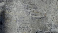 "WWI Soldiers Left Poems And Signatures In Somme Tunnels - ""If in this place you are detained, don't look around you all in vain, but cast your net and you will find, that every cloud is silver lined. Still."""
