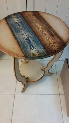 Wood painting Fiskos coffee table models - table Source by elf