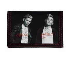 Svart 8,5x12 cm lommebok Marcus & Martinus