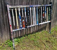 hockey stick headboard