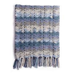 Caron Ocean Waves Crochet Blanket Pattern  ce2bd35f635