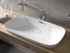 Vasque à encastrer rectangulaire