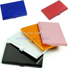 Pocket Business Name Credit ID Card Case Metal Box Holder Cover Aluminum Alloys