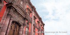 Casa del Mayorazgo de la Canal en San Miguel de Allende, Gto. http://directoriosma.com/sitios-de-interes/60-casa-del-mayorazgo-de-la-canal