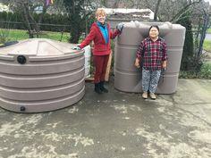 660 gallon round tank and 265 gallon slim line