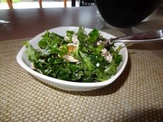 kale and #popchips high energy salad