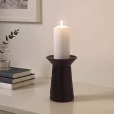 Find affordable home furnishings and furniture, all in one store. Shop quality home furniture, décor, furnishings, and accessories. Ikea Candles, Pillar Candles, Home Furnishings, Finding Yourself, Candle Holders, Inspiration, Furniture, Holidays, Gray