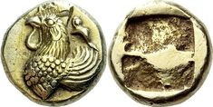 An Excessively Rare and Exceptional Greek Electrum Hekte of Phokaia (Ionia), Beautifully Struck, Probably the Finest Example Known of this Issue Electrum, Coin Art, Gold And Silver Coins, Medieval Jewelry, Antique Coins, Historical Artifacts, Ancient Art, Ancient Greek, Greek Art