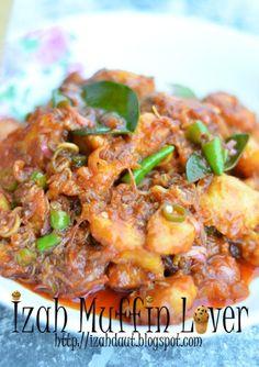 Izah Muffin Lover: Ayam Goreng Seri Wangi