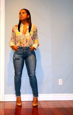 Denim jeans and So Kate Pumps