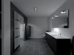 Bathroom Black Oak