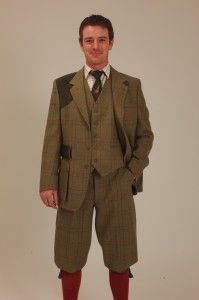 A Nice tweed Plus Twos Suit