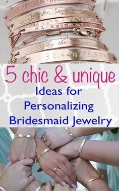 Are you a bride-to-be searching for that perfect gift to give your bridesmaids? You know... the one you can... A.) afford - after all, you do have a big