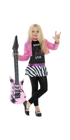 Star Glam Girl Kids Costume Rock Star Glam Girl Kids Costume Tag a friend who would look good in this!Rock Star Glam Girl Kids Costume Tag a friend who would look good in this! Pop Star Costumes, Halloween Costumes For Girls, Costume Halloween, Girl Costumes, Mermaid Costumes, Couple Costumes, Pirate Costumes, Group Costumes, Couple Halloween