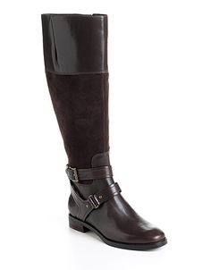 Joan & David Circa Zadarah Leather Riding Boots, $179