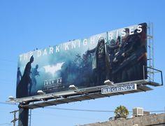 The Dark Knight Rises movie billboard