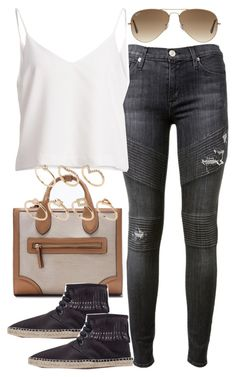 """Untitled #3442"" by plainly-marie ❤ liked on Polyvore featuring Hudson, Zara, Ray-Ban and ALDO"