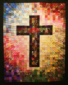 Cross Quilt at San Rafael's   This quilt hangs in the entry …   Flickr