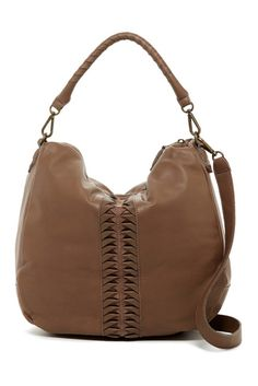 Image of Liebeskind Berlin Niva Leather Vintage Shoulder Bag