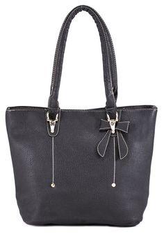 Geanta neagra de dama AHM-36-0704 - Reducere 20% - Zibra Tote Bag, Bags, Fashion, Handbags, Moda, Fashion Styles, Totes, Fashion Illustrations, Bag