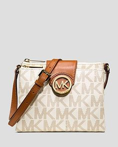 MICHAEL Michael Kors Crossbody - Large | Bloomingdales http://thegoodbags.com/    ichael Kors Outlet Only $72 Value Spree 28 For Sale,I'm in love!