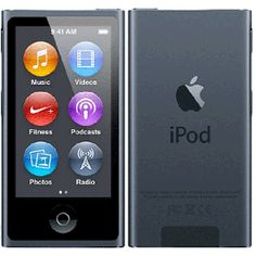 Buy Apple IPod Nano 16GB Slate (7th Generation) in India online. Free Shipping in India. Pay Cash on Delivery. Latest Apple IPod Nano 16GB Slate (7th Generation) at best prices in India.