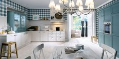 Classic-Country-Style-Kitchen. Schuller German Kitchens - Cambia. #germankitchens #kitchendesign #schullerkitchens