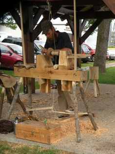 Green Woodworking, Woodworking Tips, Wild Rice, Lathe, Picnic Table, Wood Turning, Candle Making, Great Deals, Tool Design