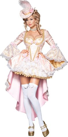 As seen in the movie Marie Antoinette, costumes are all about excess, beauty and a provocative look. We've scoured the Internet to find every beautiful, sexy Marie Antoinette costume in existence. Every one is fit for a queen! Costumes Sexy Halloween, Halloween Kostüm, Adult Costumes, Costumes For Women, Spirit Halloween, Awesome Costumes, Party Costumes, Maid Costumes, Women Halloween