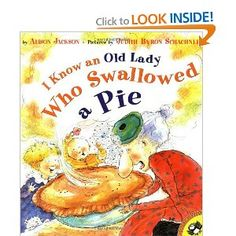 Book, I Know An Old Lady Who Swallowed a Pie by Alison Jackson