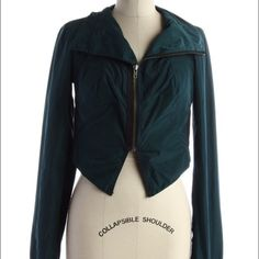 FINAL $ DROPFree People Crop Jacket Crop length nylon Free People jacket in perfect condition. Free People Jackets & Coats
