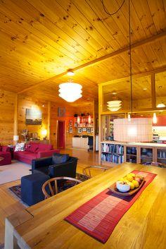 Dream Home Design, House Design, Garage Apartments, Home Renovation, Building Design, Beautiful Homes, New Homes, Design Homes, Wooden Houses