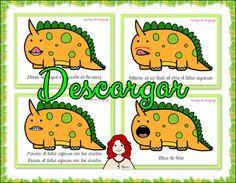Praxias con Dinosaurios.