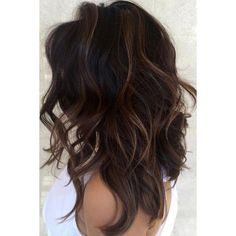 Image result for full balayage dark brown hair